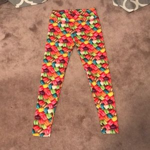 Pants - macaroon leggings
